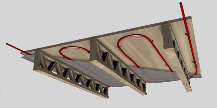 D co epaisseur d un plancher chauffant 32 aixen for Epaisseur d un plancher chauffant